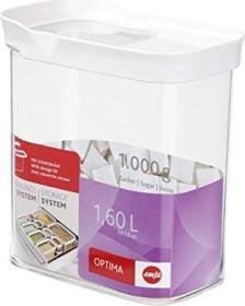 Emsa Optima rechteckig 1.6l Aufbewahrungsbehälter weiß (514551)