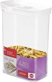 Emsa Optima rechteckig 2.2l Aufbewahrungsbehälter weiß (514552)