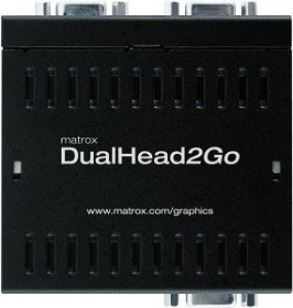 Matrox DualHead2Go Analog USB Edition (D2G-A2A-IF)