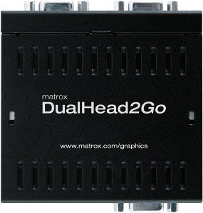 Matrox DualHead2Go Analog USB Edition (D2G-A2A-IF)
