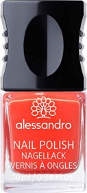 Alessandro Nail Polish Nagellack 14 Orange Red, 10ml