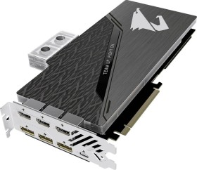 Gigabyte Aorus GeForce RTX 2080 Ti Xtreme Waterforce WB 11G, 11GB GDDR6, 3x HDMI, 3x DP, USB-C (GV-N208TAORUSX WB-11GC)
