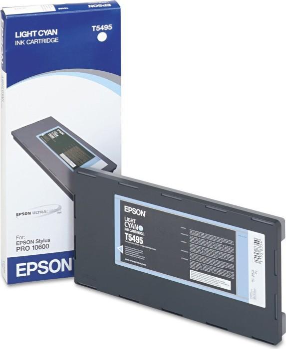 Epson T5495 Tinte cyan hell (C13T549500) -- via Amazon Partnerprogramm