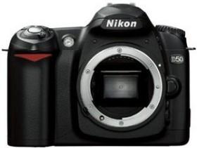 Nikon D50 schwarz Gehäuse inkl. Secure Digital Card (SD) 1GB (VBA120SD)