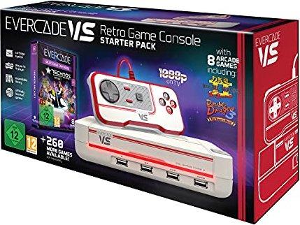 Blaze Entertainment Evercade VS Konsole Starter Pack -- via Amazon Partnerprogramm