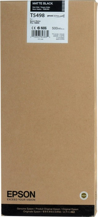 Epson Tinte T5498 schwarz matt (C13T549800) -- via Amazon Partnerprogramm