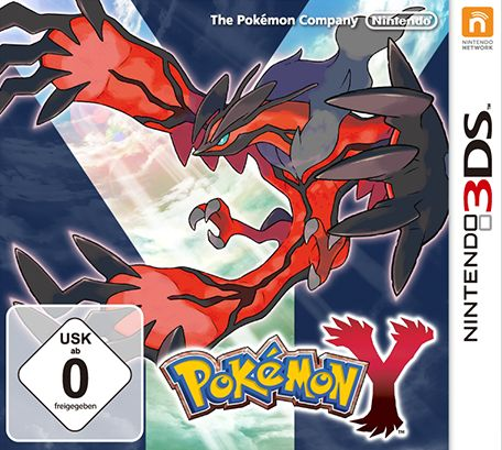 Pokemon - Y Version (English) (3DS)