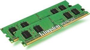 Kingston ValueRAM DIMM kit 1GB, DDR2-533, CL4, ECC (KVR533D2E4K2/1G)