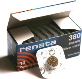 Renata High Drain 380 (SR45/SR936), 10-pack