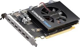 Sapphire GPRO 6200, 4GB GDDR5, 6x mDP (32258-00-20G)