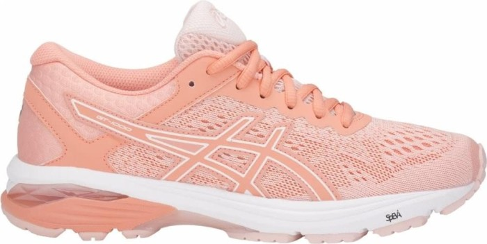 separation shoes ac71f 72765 Asics GT-1000 6 seashell pink/begonia pink/white (Damen) (T7A9N-1706)