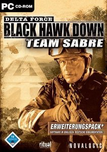 Delta Force: Black Hawk Down - Team Sabre (Add-on) (niemiecki) (PC)