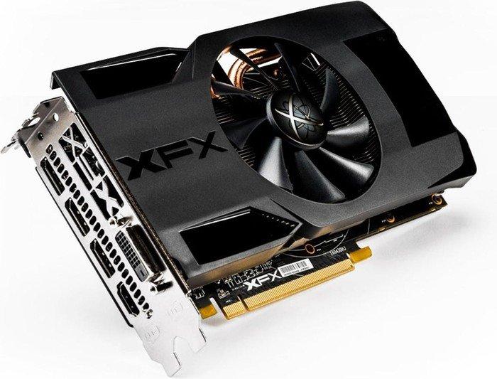 XFX Radeon RX 470 Single Fan, 4GB GDDR5, DVI, HDMI, 3x DisplayPort (RX-470P4SFD5)
