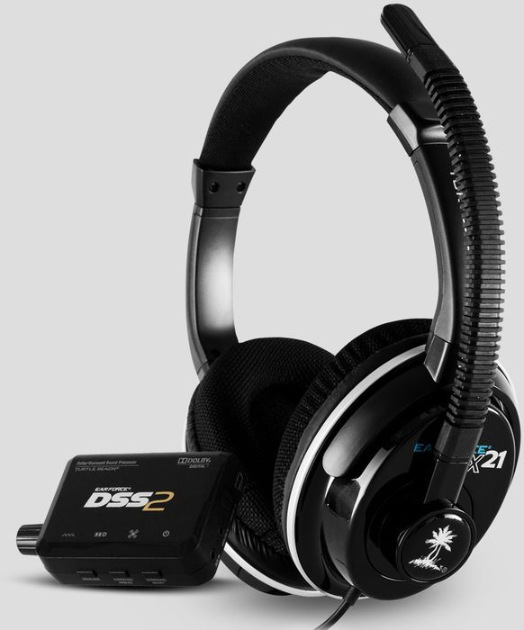 Turtle Beach Ear Force DPX21 headset (PC/PS3/Xbox 360)