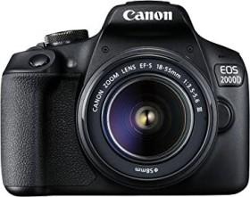 Canon EOS 2000D mit Objektiv EF-S 18-55mm 3.5-5.6 III (2728C002)