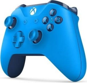Microsoft Xbox One Wireless Controller blau (Xbox One/PC)