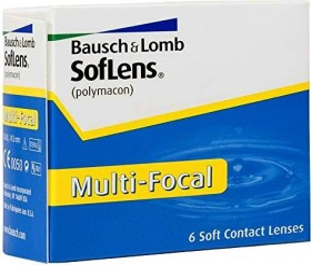 Bausch&Lomb SofLens Multi-Focal, -3.50 Dioptrien, 6er-Pack