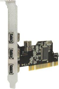 Sweex FW005, 4x FireWire, PCI