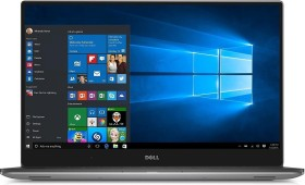 Dell XPS 15 9560 (2017) silber, Core i7-7700HQ, 8GB RAM, 256GB SSD, Windows 10 Home (9560-1061)