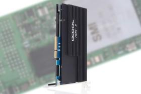 Alphacool Eisblock HDX-5 NGFF+SATAIII PCIe Card mit Passiv Kühler, 4x M.2 PCIe (2280), PCIe 3.0 x4 (11437)