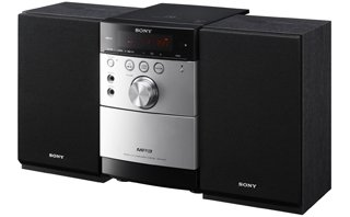 Sony CMT-EH15 silver/black