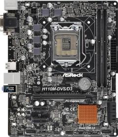 ASRock H110M-DVS/D3 (90-MXGZ80-A0UAYZ)