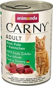 animonda Carny Rind, Pute und Kaninchen 2.4kg (6x400g)