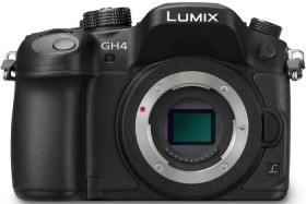 Panasonic Lumix DMC-GH4 schwarz Body