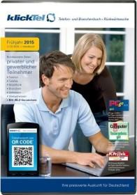 Buhl Data KlickTel Telefon- und Branchenbuch Frühjahr 2015 inkl. Rückwärtssuche (deutsch) (PC)