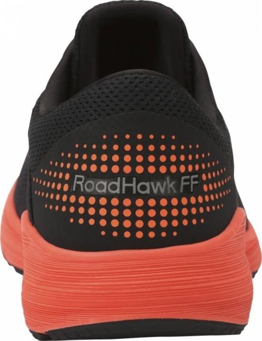 bc9aaae3ea Asics RoadHawk FF black hot orange white (men) (T7D2N-9030) starting from £  71.90 (2019)