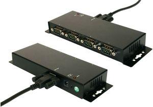 Exsys screw lock USB 1.1 auf 4-port seriell (EX-1334HMV)
