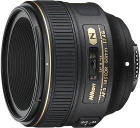 Nikon AF-S 58mm 1.4G schwarz (JAA136DA)