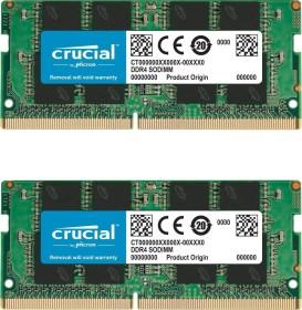 Crucial SO-DIMM Kit 32GB, DDR4-2666, CL19 (CT2K16G4SFD8266)