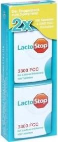Hübner LactoStop 3300 FCC Tabletten, 200 Stück (2x 100 Stück)