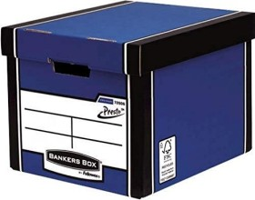 Fellowes Bankers Box Premium, hohe Archivbox, blau (7260601)