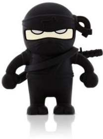 Bone Ninja Driver schwarz 4GB, USB-A 2.0 (80266)