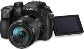 Panasonic Lumix DMC-GH4 schwarz mit Objektiv Lumix G Vario 14-140mm 3.5-5.6 ASPH OIS (DMC-GH4H)
