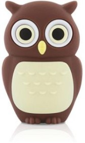 Bone Owl Driver braun 4GB, USB-A 2.0 (80258)