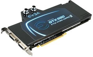 EVGA GeForce GTX 580 Hydro Copper 2, 3GB GDDR5, 2x DVI, Mini HDMI (03G-P3-1591)