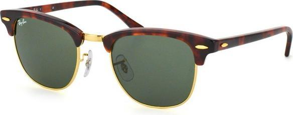 4a01a2a410 Ray-Ban RB3016 Clubmaster Classic 49mm havana green (RB3016-W0366 ...