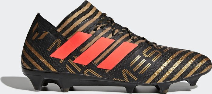 huge selection of 97f72 f3e72 adidas Nemeziz Messi 17.1 FG core blacksolar redtactile gold metallic (men