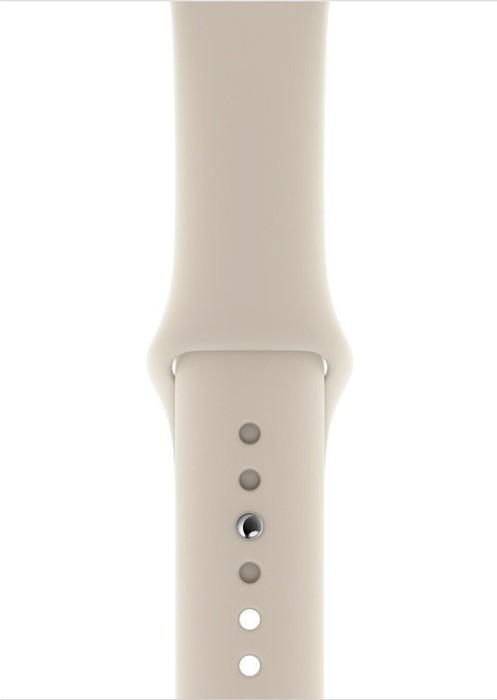 Apple Sportarmband S/M und M/L für Apple Watch 44mm steingrau (MTPN2ZM/A)