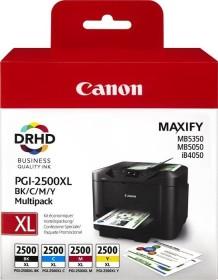 Canon Tinte PGI-2500XL BK/C/M/Y Multipack (9254B004)