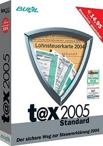 Buhl Data t@x 2005 Standard (PC)