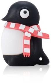 Bone Penguin Driver schwarz/rot 4GB, USB-A 2.0 (80252)