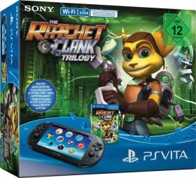 Sony PlayStation Vita Slim Wi-Fi Ratchet & Clank Trilogy Bundle schwarz