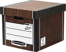 Fellowes Bankers Box Premium, hohe Archivbox, braun (7260501)