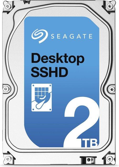 Seagate desktop SSHD 2TB, SATA 6Gb/s (ST2000DX001)