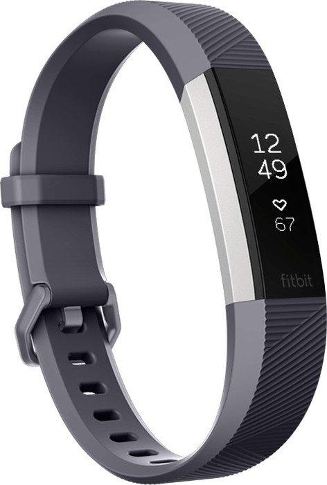 Fitbit Alta HR Small Aktivitäts-Tracker blaugrau (FB408SGYS)