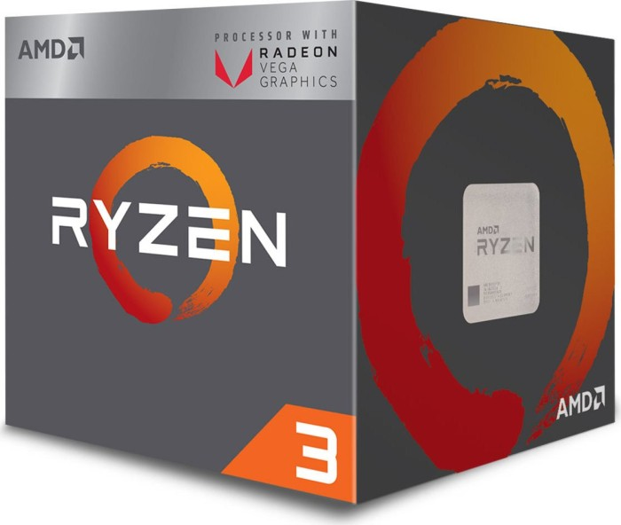 AMD Ryzen 3 2200G, 4x 3.50GHz, boxed (YD2200C5FBBOX)